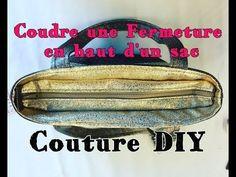 Coudre une Fermeture Intérieure en Haut d'un Sac - Tuto Couture ⋆ Les Tutos Couture de Viny - Blog de Couture et DIY