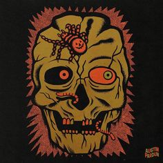 Creepy Halloween, Happy Halloween, Surreal Art, Holiday Fun, Surrealism, Deadpool, Folk Art, Horror, Superhero