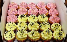 Vanilla & lemon cupcakes
