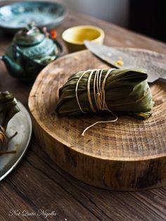 Zongzi Chinese Bamboo Leaf Dumplings
