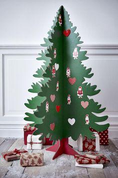 karácsonyfa papírból sablon - Google keresés