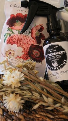 Bittersweet Apothecary Cleanse Spray & Cleansing Cloths