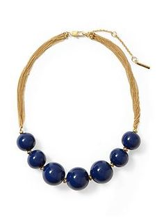 Kenneth Cole New York Urban Geo Beaded Necklace | Piperlime