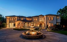 $3 Million 13,000 Square Foot Italian Inspired Mansion In Cherry Hills Village, CO.