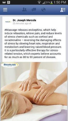 #massage benefits #mercola article