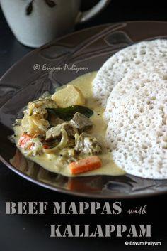 Erivum Puliyum: Kallappam (Vellayappam) -Step By Step Pics | Rice Pancakes…