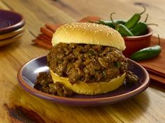 Total Recipe Time: 30 to 35 minutesMakes 6 servings  MONGOLIAN SLOPPY JOE'S   INGREDIENTS:  1 pound Ground Beef (90% lean) 1 medium onion, chopped  2 Serrano chilies, seeded, chopped 3 tablespoons hoisin sauce 2 tablespoons oyster sauce 2 tablespoons soy sauce 1 tablespoon honey 6 sesame seed hamburger buns, split