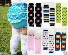 U-Pick Boy/Girl Cotton Baby Toddler Arm Leg Warmers Leggings Kids Socks - USA Starting @ $2.35