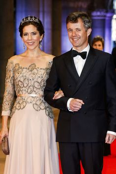 Princess Mary Photos - Guests Arrive for a Dinner With the Royal Family - Zimbio