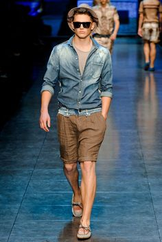 D&G Spring 2012 Menswear Fashion Show