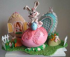 EASTER CAKE!!! by silvia ferrada colman