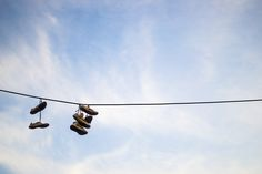 Shoes on the sky
