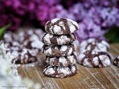 Kakaov� Crinkle cookies
