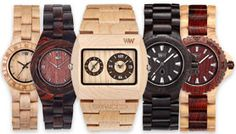 WeWood Wood watches.. ecofriendly and trendy! WeWood plants a tree for each watch sold.