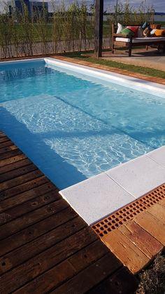 Borda de piscina Rustica