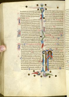 Breviary, MS M.0373 fol. 245v - Images from Medieval and Renaissance Manuscripts - The Morgan Library & Museum