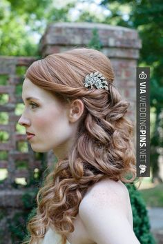 Fantastic - with a pin | CHECK OUT MORE GREAT WEDDING HAIRSTYLES AND WEDDING HAIRSTYLE PICS AT WEDDINGPINS.NET | #weddings #hair #weddinghair #weddinghairstyles #hairstyles #events #forweddings #iloveweddings #romance #beauty #planners #fashion #weddingphotos #weddingpictures