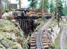 On30 Logging Railroads | Railroad Line Forums - Climb-able grade for the Bachmann On30 Shay?