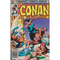 CONAN THE BARBARIAN #150 | September 1983 | $6.00 | 1970-1994 | VOLUME 1 | MARVEL