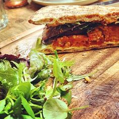 A falafel flatbread at Taypark House Cafe. | 21 Things Everyone Must Eat In Dundee