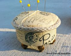 Redo It Yourself Inspirations : Pin Cushions from Tuna Cans