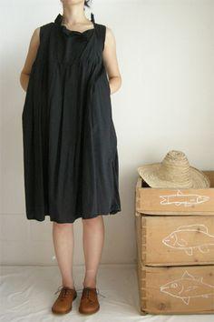 Daniela Gregis sleeveless washed pesci dress