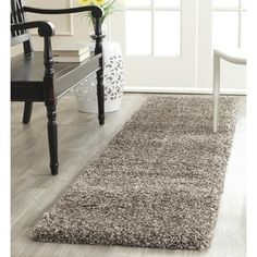 Shop for Safavieh Milan Shag Grey Runner (2' x 14'). Get free shipping at Overstock.com - Your Online Home Decor Outlet Store! Get 5% in rewards with Club O! - 20016768