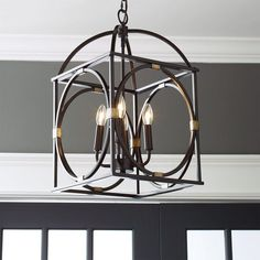 Check out Circle Lattice Hanging Lantern from Shades of Light