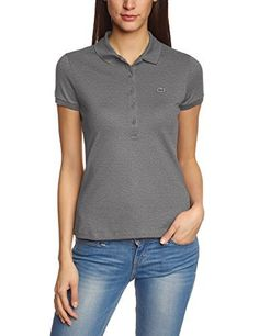 Lacoste – Polo PF6949 – Femme: – Style : basic, casual, sport – Coupe : normal, coupe cintrée – Fermeture : demi boutonnage – col…