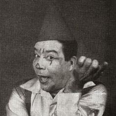 Palhaço Pimentinha da Ginkana Kibon Circo do Arrelia anos 60