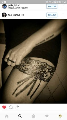 Want similar to this on both legs
