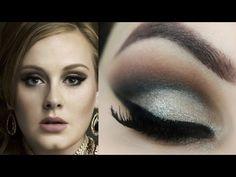 COMO CRIAR CÔNCAVO EM PÁLPEBRA GORDINHA? Adele Makeup Tutorial -