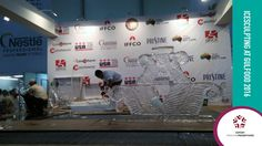 Ice sculpting competition at the Gulfood 2016 trade show. We were lucky enough to watch this spectacular event!
