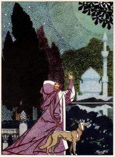 Look Here: RUBAIYAT OF OMAR KHAYYAM, illus. by Robert Stewart Sherriffs (post 2 of 3) – Ragged Claws Network