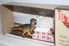 Dioramas and Clever Things: Matchbox dioramas by Melanie Coles