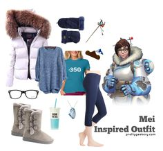Mei Overwatch Inspired Outfit
