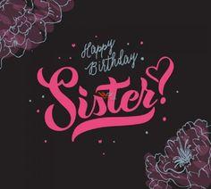 Happy Birthday Sweet Sister, Happy Birthday Didi, Happy Birthday Text Message, Birthday Greetings For Sister, Birthday Messages For Sister, Unique Birthday Wishes, Message For Sister, Happy Birthday Wishes Photos, Happy Birthday Printable
