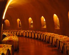The Jarvis Winery wine caves are an exquisite architectural feat, and a must-see on your wine exploration adventure from Napa Valley to Santa Monica.