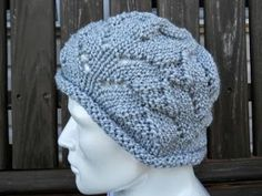 Get more bang for your buck with this knit hat pattern. The Half Skein Cap is a fun, textured knit hat that will keep your head and ears warm throughout the winter months.