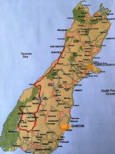 The Ultimate Road Trip in New Zealand's South Island. Read more at www.travelswithtalek.com