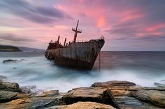 TRAVEL'IN GREECE | Semiranis shipwreck, #Andros, #Greece, #travelingreece