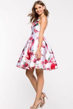 Peach Blossom Midi Flare DressPeach Blossom Midi Flare Dress