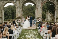 Stunning UK wedding locations. Outdoor ceremony at Slaugham Place. Read more here Www.LeanLivingGirl.com