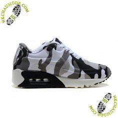 huge discount fbb3b 2aa52 chaussure de sport nike enfant Air Max 90 Camouflage Armée Verte