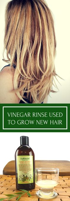 Over time, a barrier of residue covers your scalp which prevents normal hair growth. This vinegar rinse helps dissolves toxins that clog your follicles. The acids, enzymes combine with herbal extracts and essential oils to eliminate harmful pathogens that cause the loss of new hair.