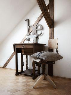 Dekoration | Das tapfere Schneiderlein - alte Nähmaschine