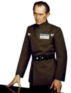 Grand Moff Wilhuff Tarkin - The Imperial governor of the Outer Rim territories, and the commanding officer of the Death Star in A New Hope. Star Wars Film, Star Wars Art, Peter Cushing, Evil Empire, Star Wars Episode Iv, Star Wars Celebration, A New Hope, Death Star, One Star