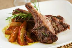 lamb chops with curried # pears more lamb recipes grilled lamb chops ...