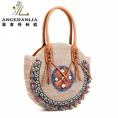 Bohemian Chic Online Store - Boho Gipsy Store summer lady pp beach straw rounded handbag Hippie Gypsy Chic Women Tote Bags BOHO Ethnic Bag shoulder Bag crossbody bags bolsos - Boho Gipsy Store Jean Hippie, Hippie Gypsy, Tote Bags, Crossbody Bags, Ibiza, Estilo Hippy, Bag Women, Ethnic Bag, Gypsy Chic