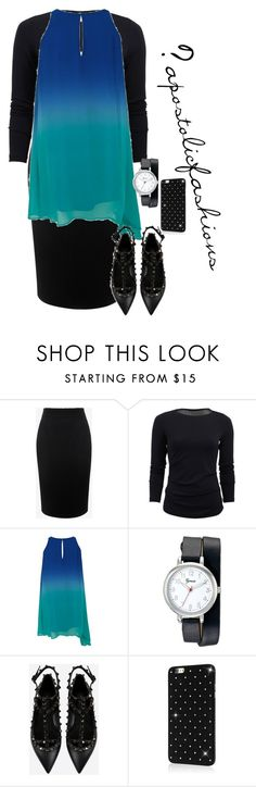 """""""Apostolic Fashions #1444"""" by apostolicfashions on Polyvore featuring Alexander McQueen, Nicole Miller, Geneva and Valentino"""